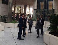 Visite à la Banque Rhône-Alpes